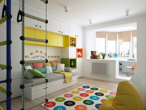 дизайн и организация пространства в детской комнате