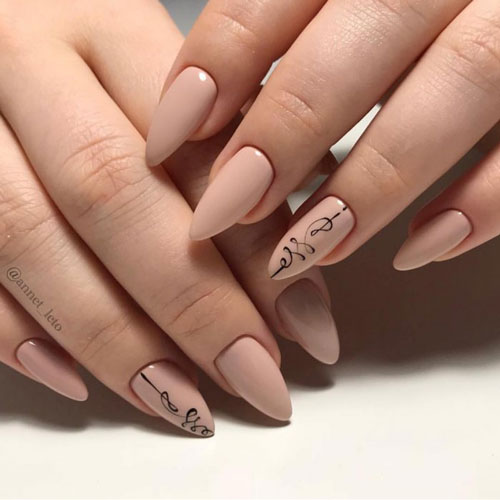 дизайн ногтей на осень 2021 фото