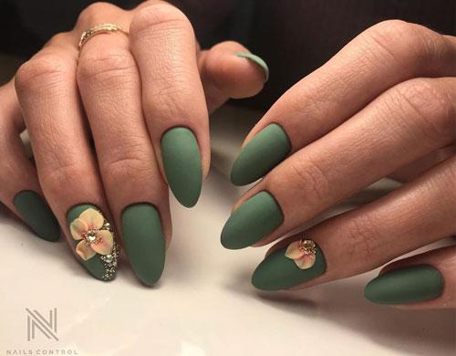 дизайн ногтей осень на короткие ногти фото 2