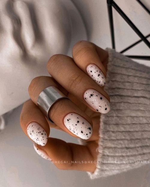модный дизайн ногтей осень 2021 фото