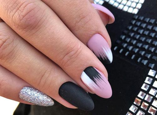 дизайн ногтей 2021 осень квадратные ногти фото