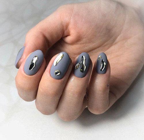 маникюр дизайн ногтей новинки 2021 осень фото
