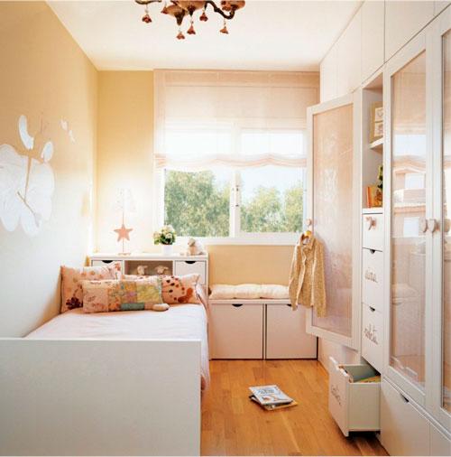 Дизайн прямоугольной комнаты для ребенка 5 лет