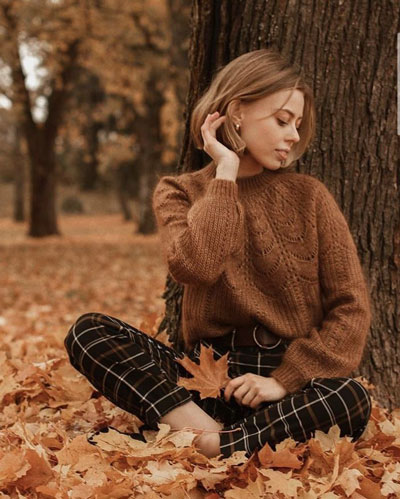 фотосессия на природе осенью идеи для девушки 4