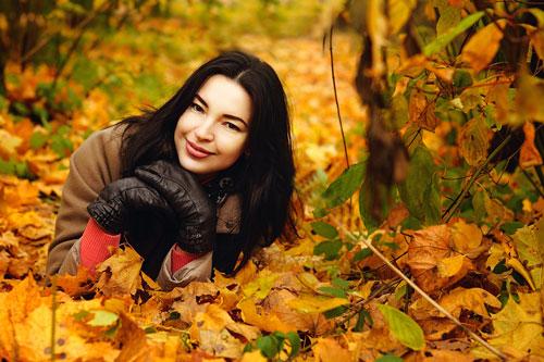 фотосессия на природе осенью идеи для девушки 2