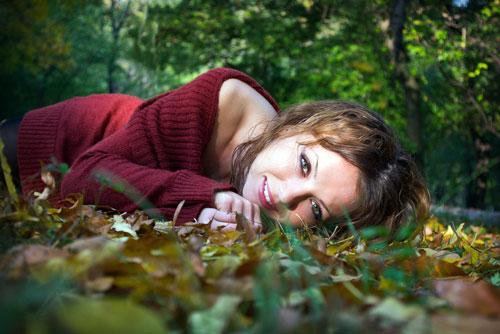 осенняя фотосессия на природе идеи для девушки 9