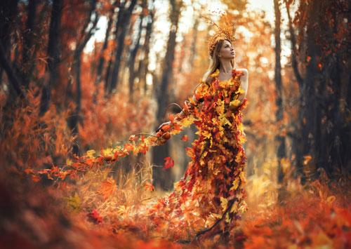 осенняя фотосессия на природе идеи для девушки 8