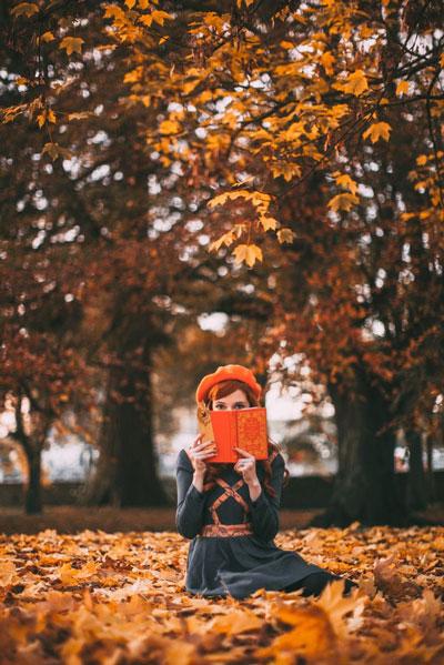 фотосессия на природе осенью идеи для девушки 9