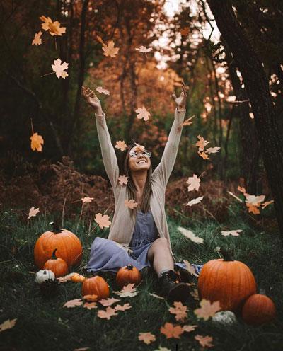 аксессуары +для фотосессии на природе осенью 2