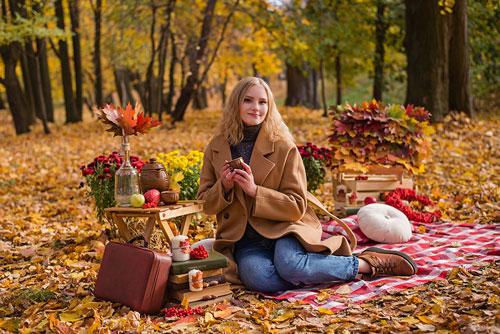 что надеть на фотосессию на природе осенью 9