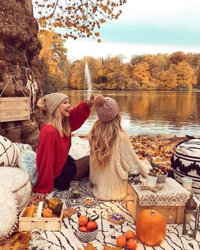 что надеть на фотосессию на природе осенью 7