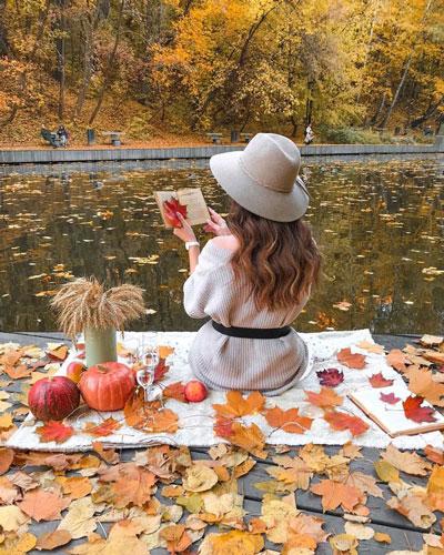 что надеть на фотосессию на природе осенью 6