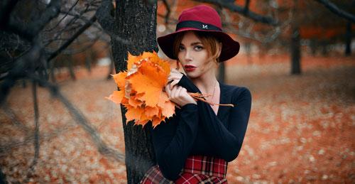 образ для фотосессии на природе осенью девушке 8
