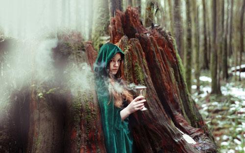 образ для фотосессии на природе осенью девушке 6