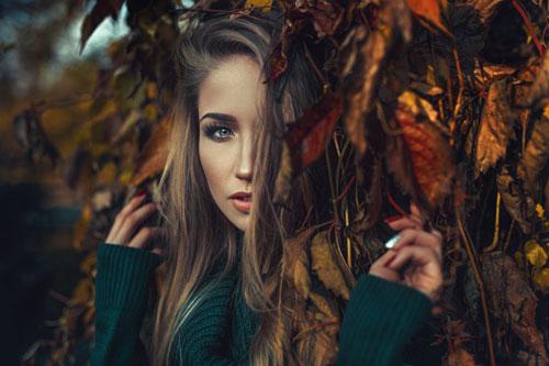 образ для фотосессии на природе осенью девушке 2