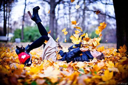 макияж на фотосессию на природе осенью 4