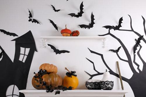 как украсить квартиру на хэллоуин своими руками в 2021 году 4