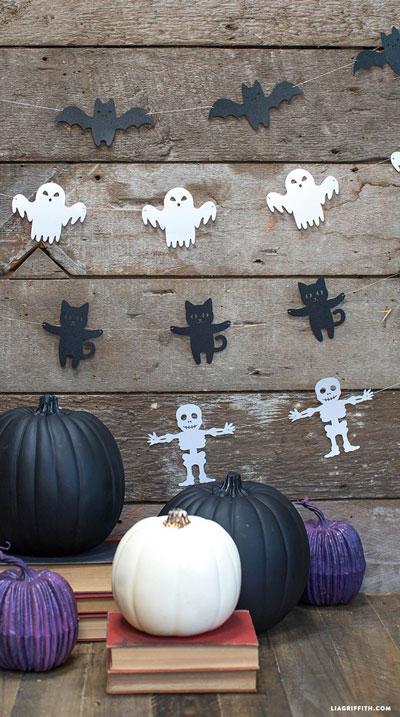 украшение своими руками на Хэллоуин 5