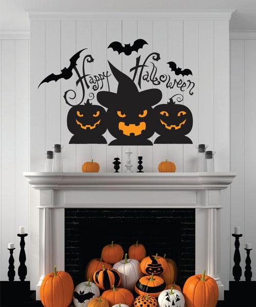 как украсить квартиру на хэллоуин своими руками в 2021 году 2