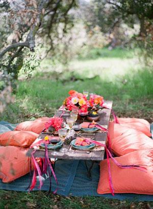 как отметить день рождения на природе осенью