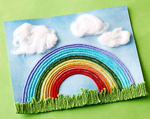 как сделать красивую открытку маме 2
