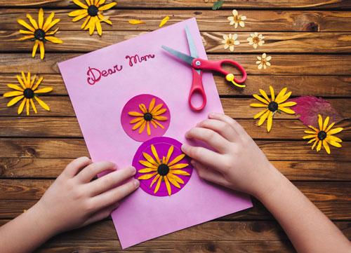 какую открытку можно сделать маме