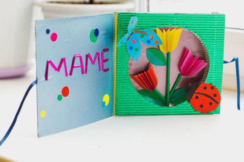 какую открытку можно сделать маме 2