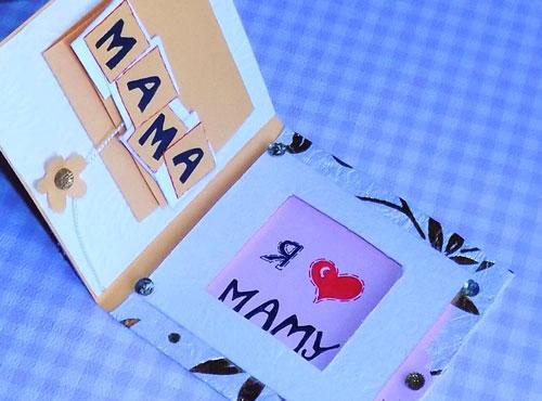какую открытку сделать на день мамы 2