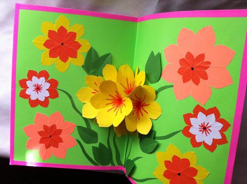 как сделать открытку для мамы своими руками из бумаги легко и просто 2