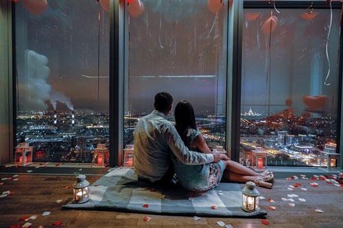 устроить романтический вечер любимому мужчине дома