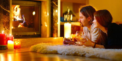 устроить парню романтический вечер дома