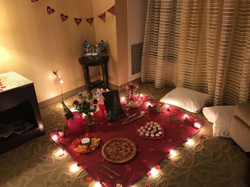 Как устроить романтический вечер дома фото