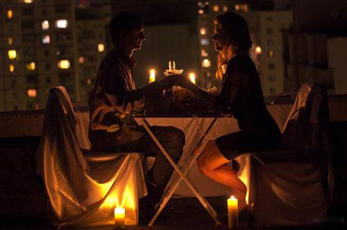 устроить романтический вечер дома