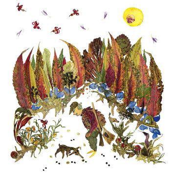 картины из листьев и цветов своими руками пейзажи 10