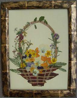 картины из листьев и цветов своими руками на тему осень 3