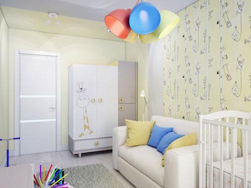 детская мебель в маленькую комнату идеи оформления 2