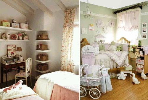 дизайн маленькой детской комнаты для двоих