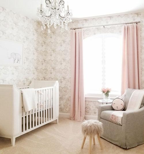 дизайн маленькой детской комнаты для малыша