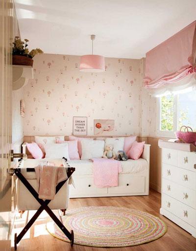маленькая детская комната игровая 2