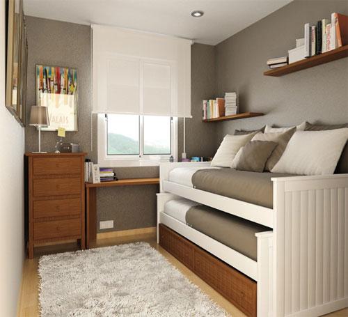 маленькая детская комната для двоих детей 2