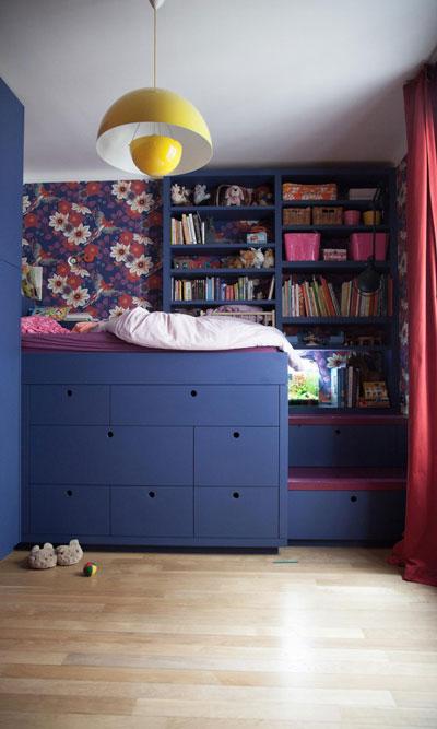 зонирование маленькой детской комнаты