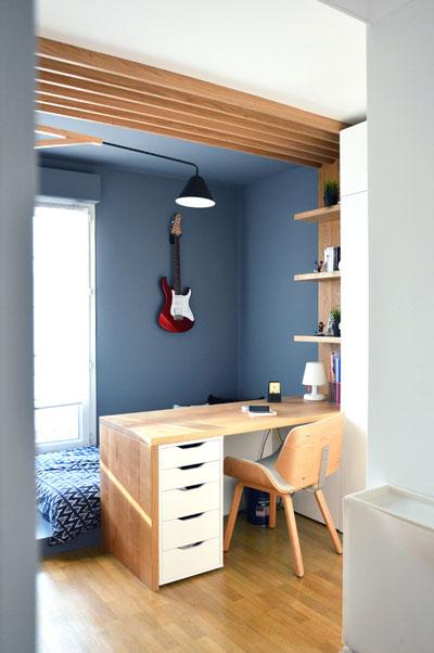 потолок в маленькой детской комнате