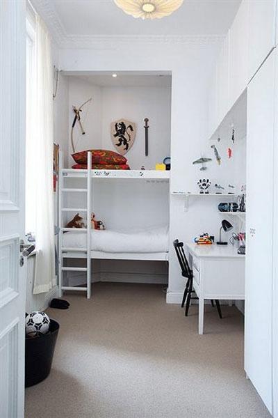 дизайн маленькой детской комнаты для мальчика фото