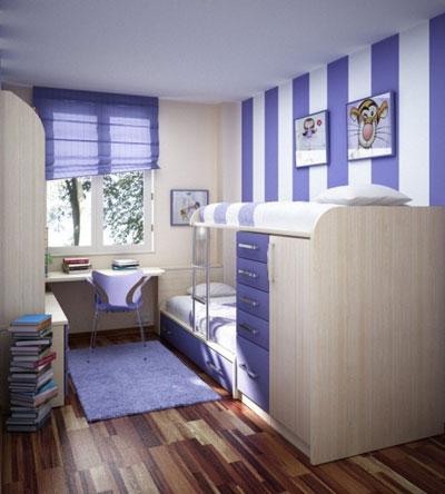 детская мебель для маленькой комнаты 2