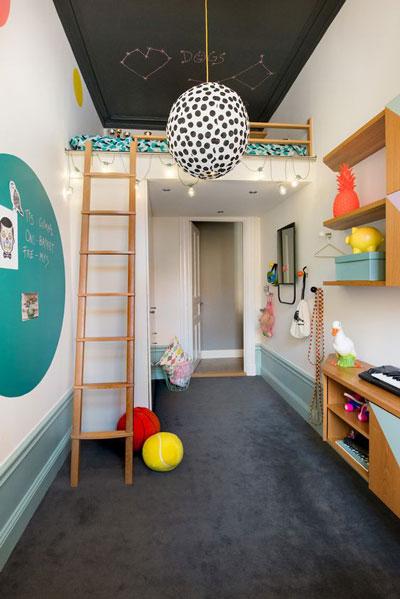 детский школьный уголок в маленькой комнате