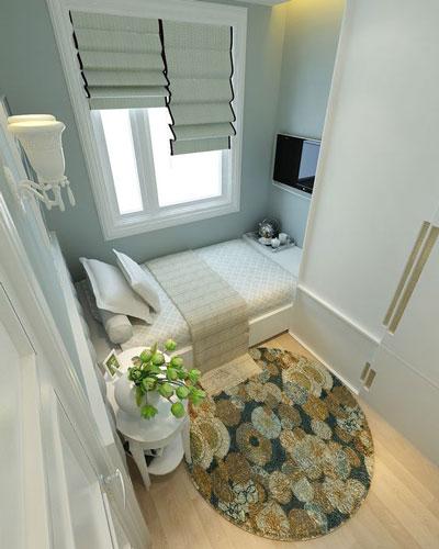 маленькая детская комната для двоих подростков 2