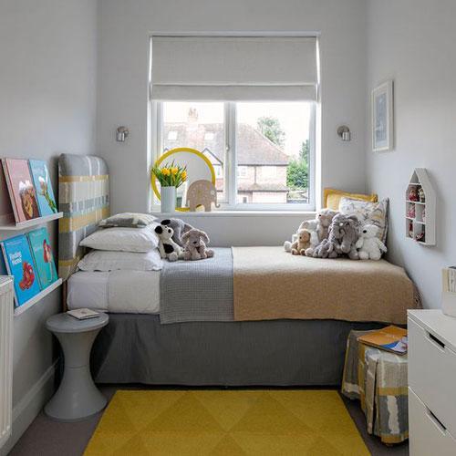 маленькая детская комната для двоих подростков