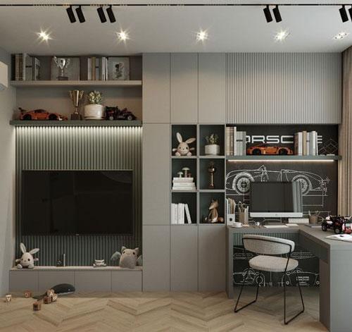 маленькая детская комната дизайн 10 кв