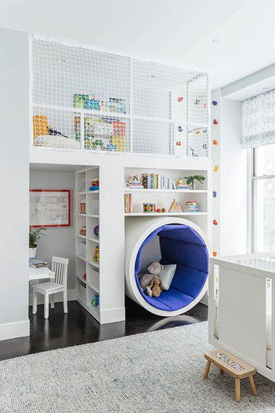 идеи для маленькой детской комнаты мальчику