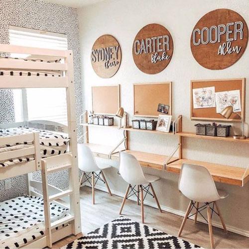 маленькая детская комната дизайн 6 кв